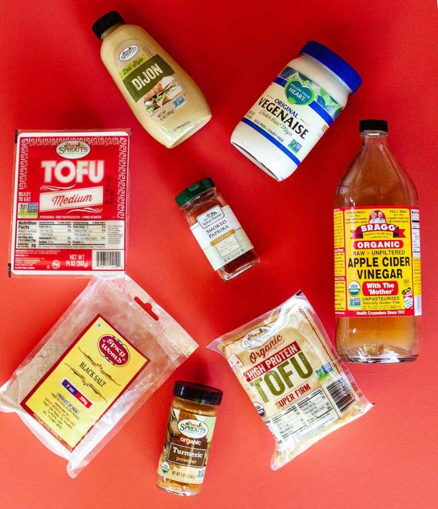 easy deviled tofu ingredients
